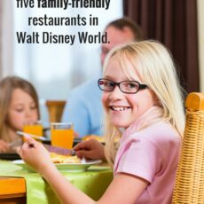 Insanely good entertainment at five family-friendly restaurants in Walt Disney World.