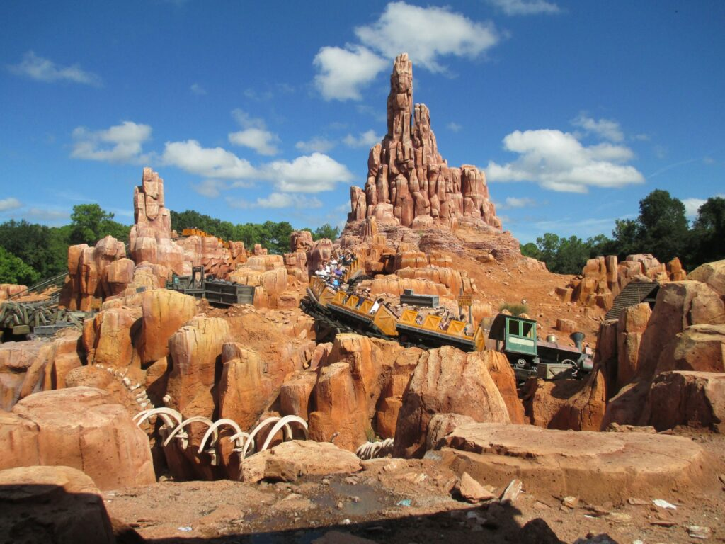 Big Thunder Mountain Railroad Roller Coaster at the Magic Kingdom