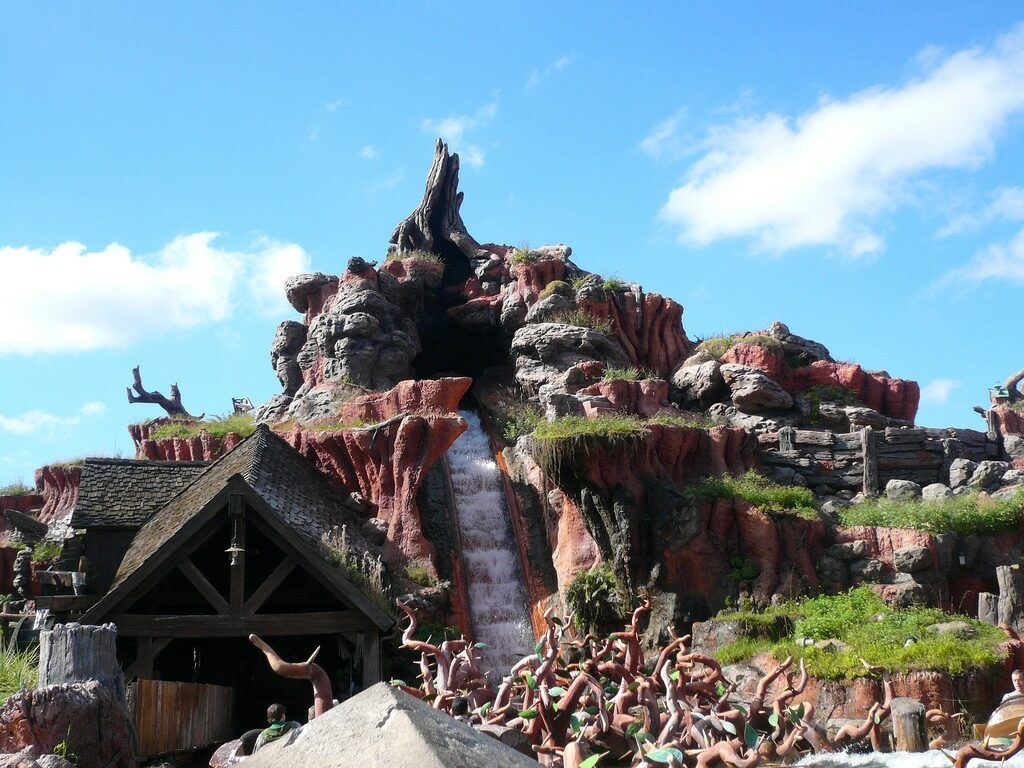 Splash Mountain at the Magic Kingdom