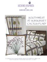 Southwest at Sunset Cactus Plaid2