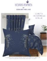 CHIEF'S HEADDRESS BLUE