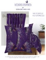 My Purple Headdress