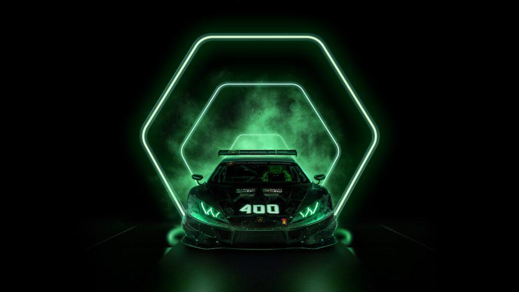 Lamborghini celebrates production of the 400th Huracán racing car via Carsfera.com