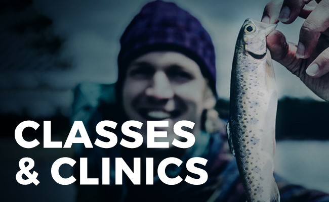 elkhorn fly rod and reel classes and clinics