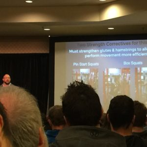 J.L. Holdsworth discussing strength correctives for the squat and deadlift.