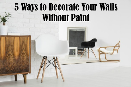 5 Ways to Decorate Your Walls Without Paint   #CanvasFactory #canvasprint #walldecor #decorating #giveaway