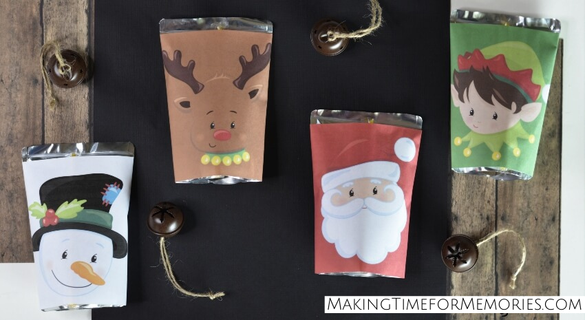 holiday juice pouches