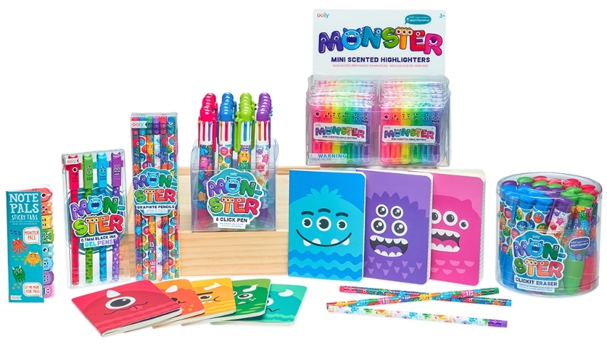 OOLY Monster Collection of Art + Writing Tools