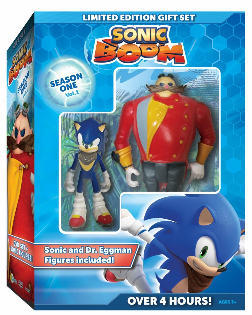 Sonic Boom Limited Edition Gift Set