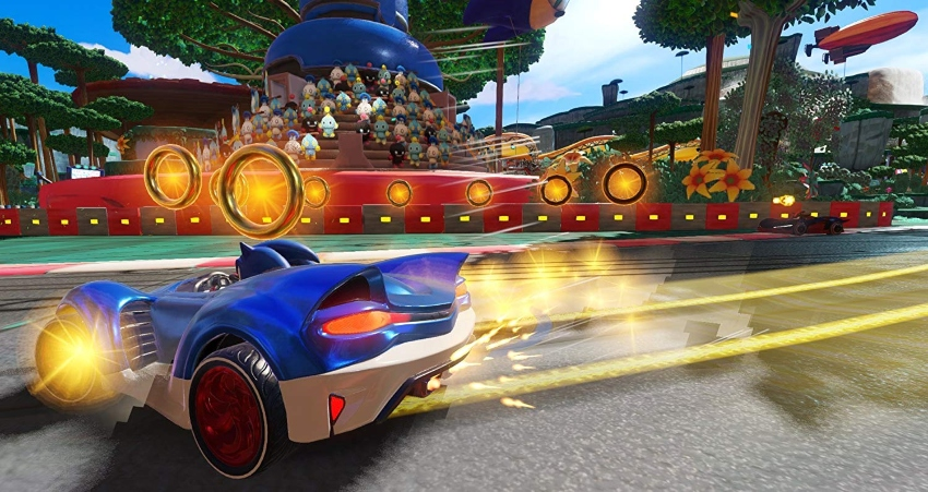 Sonic Boom Limited Edition Gift Set + Team Sonic Racing PS4 Game