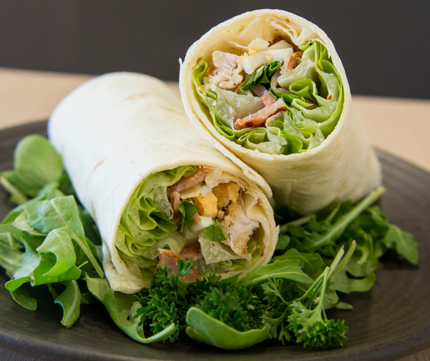 Lunch Wraps (Healthy Snacks for Holiday Travel)