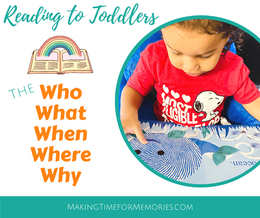 Reading to Toddlers: The Who-What-When-Where-Why