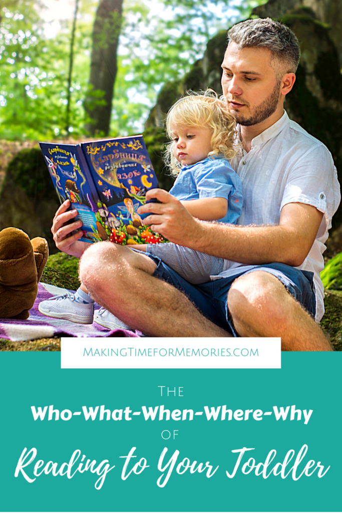 The Who-What-When-Where-Why of Reading to Your Toddler