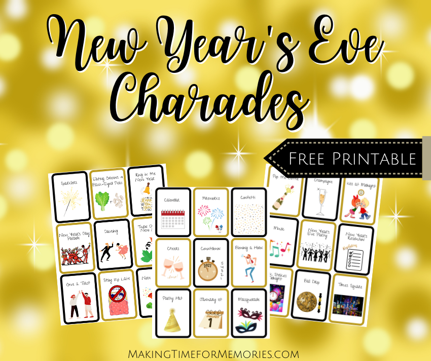 New Year's Eve Charades