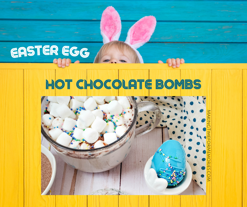 Easter Egg Hot Chocolate Bombs