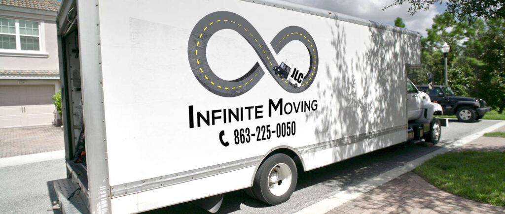Infinite Moving truck, Florida-based moving company