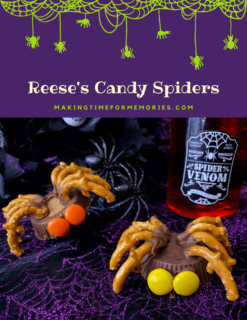 Reese's Candy Spiders