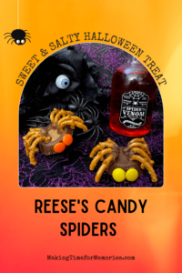 Reese's Candy Spiders - Sweet & Salty Halloween Treat