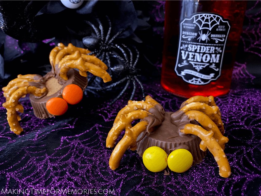 Reese's Spider Candy Halloween Treats