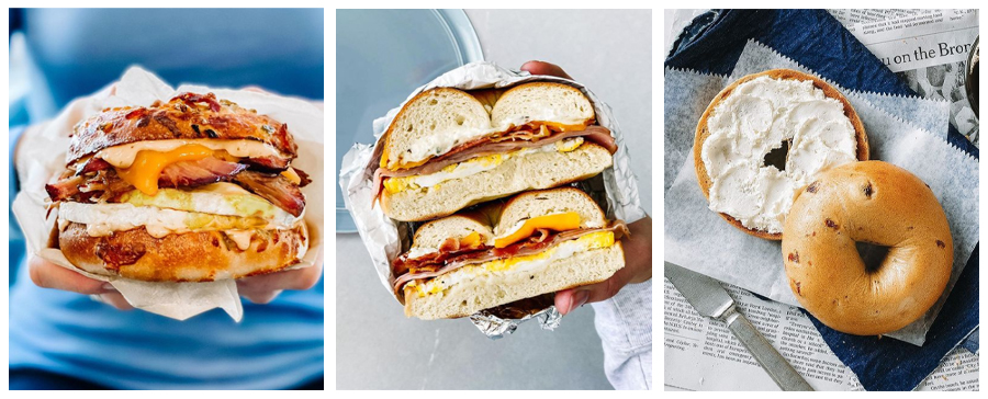 Noah's NY Bagels - gourmet bagel sandwiches, bagel with cream cheese