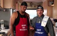 Gangstas Make Latkes for Hanukkah