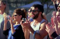 Acroyoga Flashmob in Tel Aviv