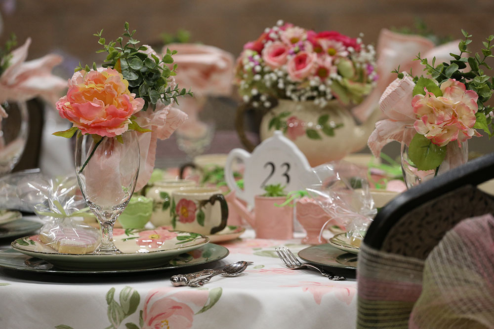 Spring Tea Gallery