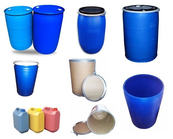 canecas plasticas en polietileno