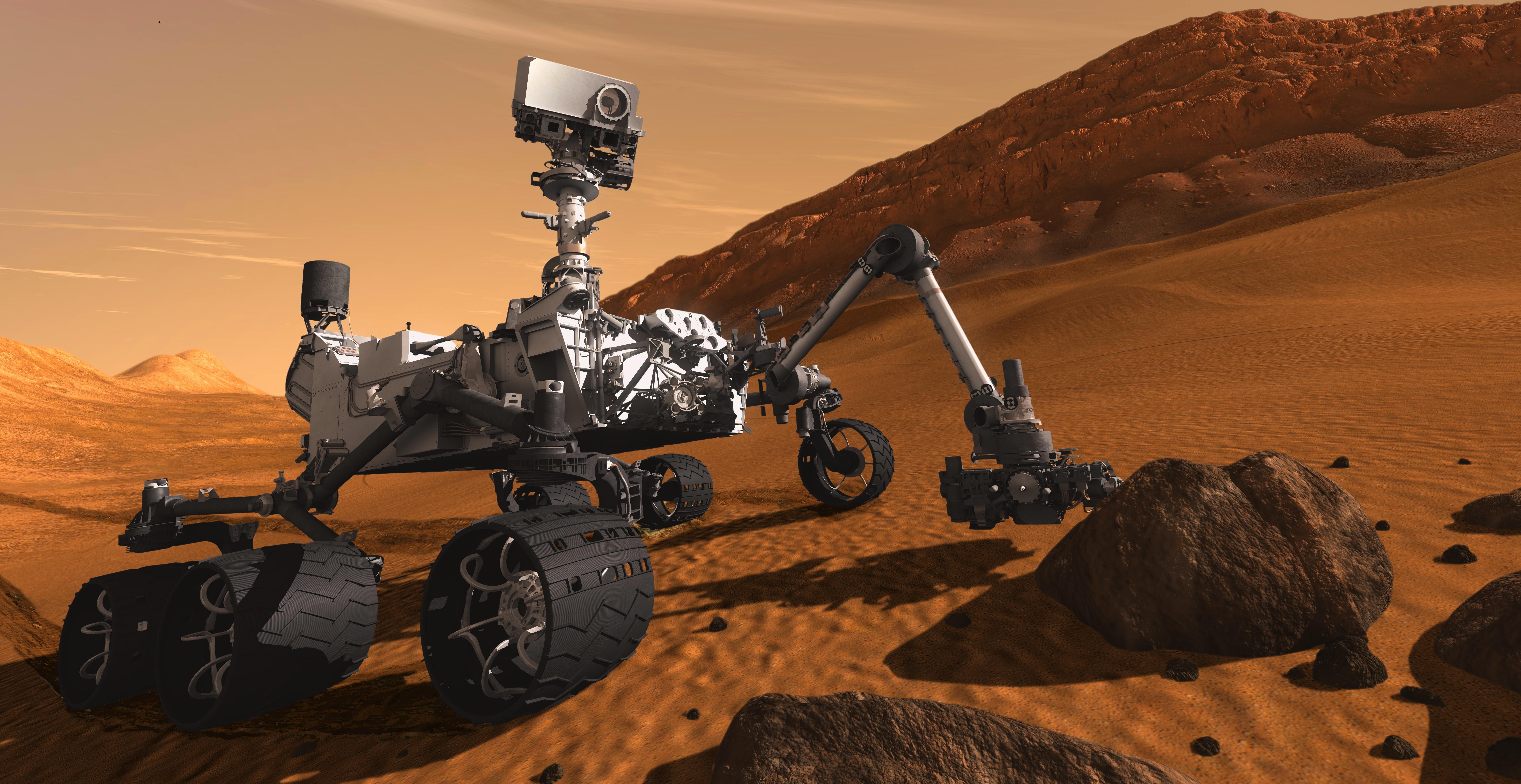 Curiosity by NASA