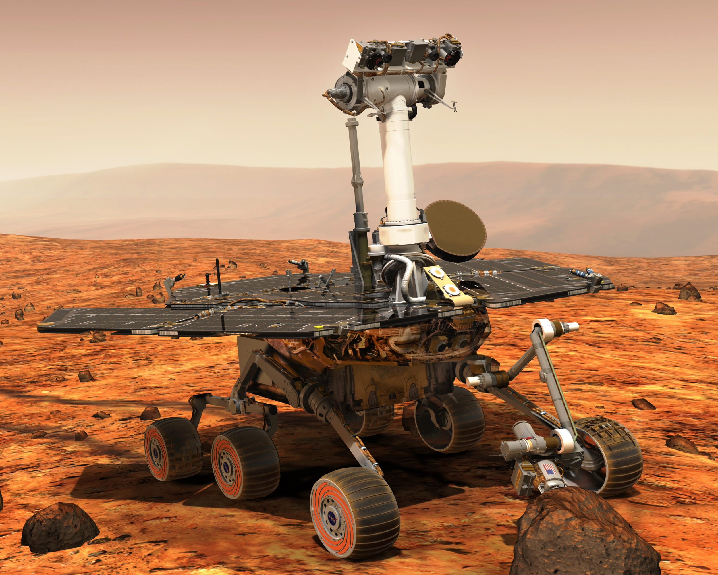 Opportunity by NASA