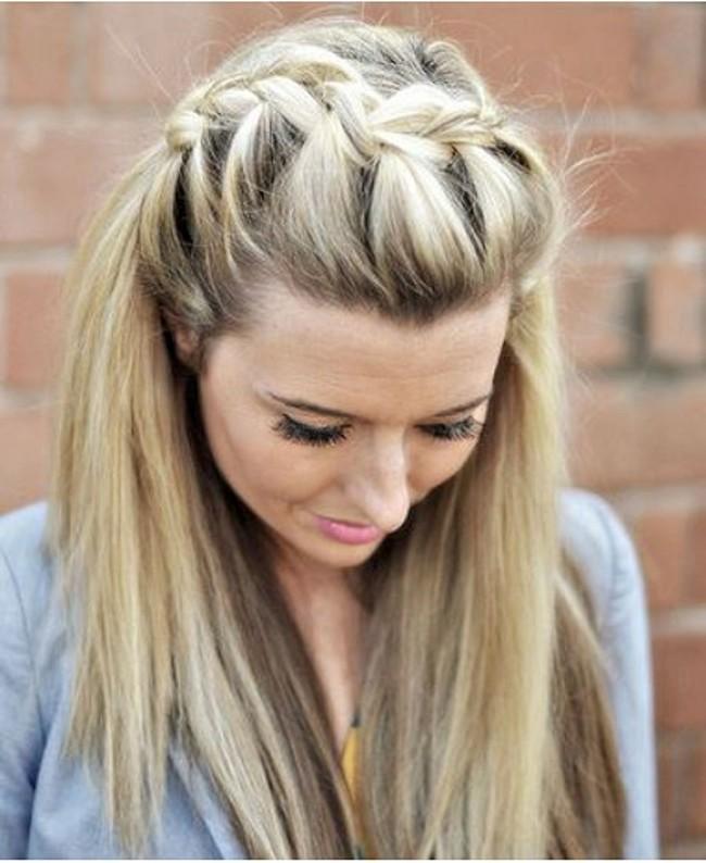 Long hair braided hairstyles