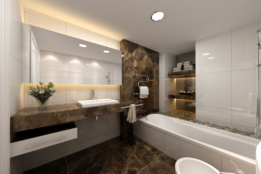 Special-modern-bathroom-designs-marble-and-corian