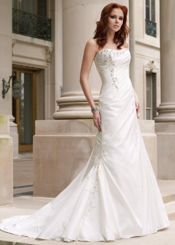 beautiful-bridal-gowns-american-wedding-dress-2015