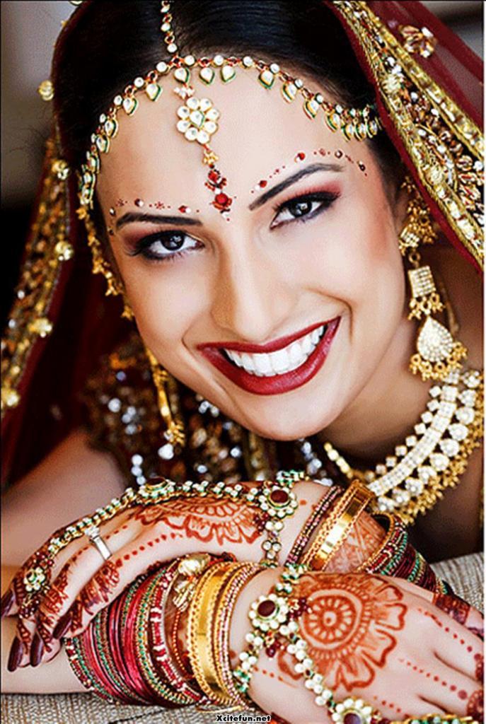 bridal-makeup-and-lehnga-choli