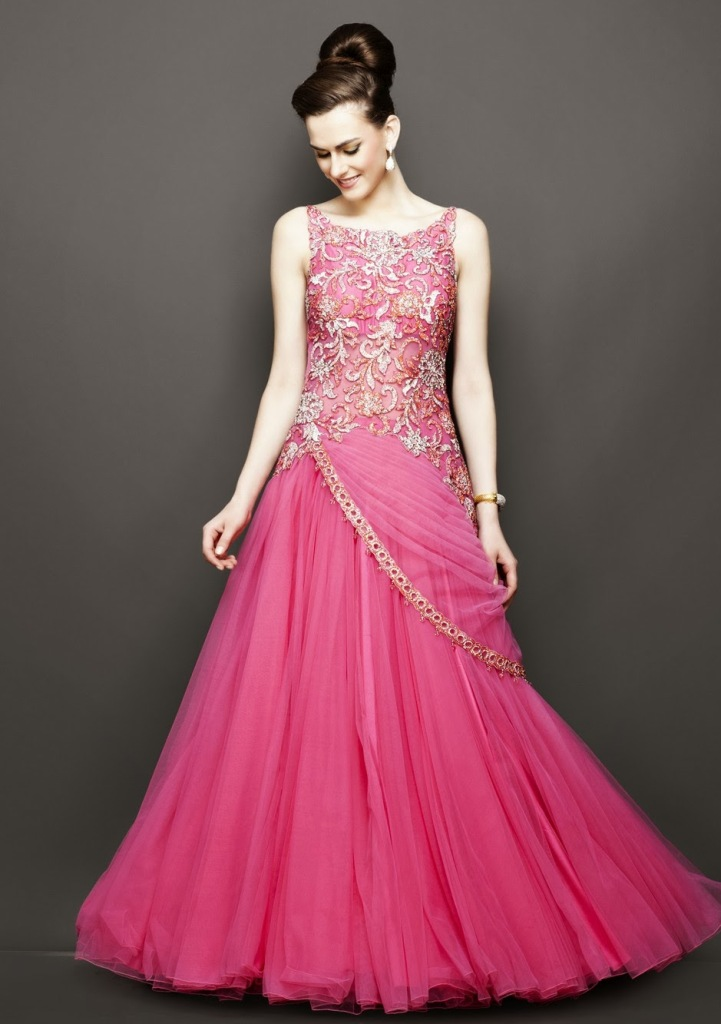evening-dress-for-wedding-in-pink-color