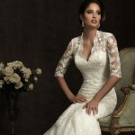 21 Gorgeous Lace Wedding Dresses