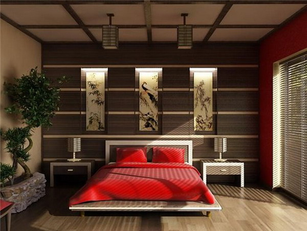 Asian Bedroom Design Ideas