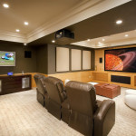 21 Beautiful Traditional Basement Designs