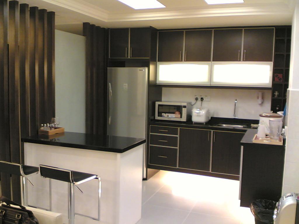 Black-and-white-ikea-kitchen-design-inspiration-with-wooden-floor-white-design