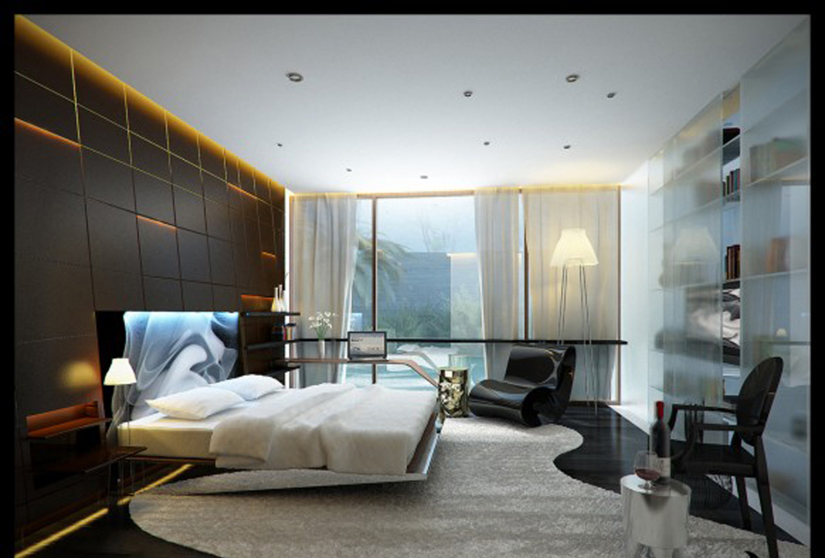 Contemporary-Bedrooms-Designs-Ideas-with-Large-Bedroom-Grey-Carpet-with-Unique-Seat1