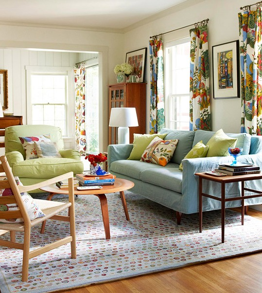 Eclectic Living Room As Eclectic