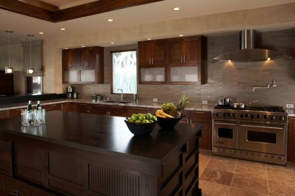 Stylish-Asian-kitchen-with-clean-lines-and-muted-colors