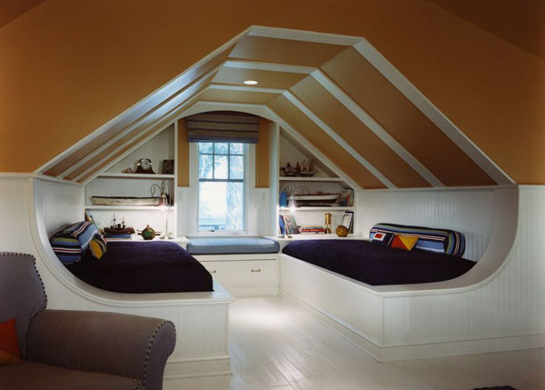 The-Black-Sofa-Bed-Of-Interesting-and-Cool-Bedroom-Ideas