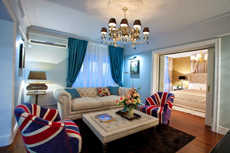 The best designs for English style in interior room