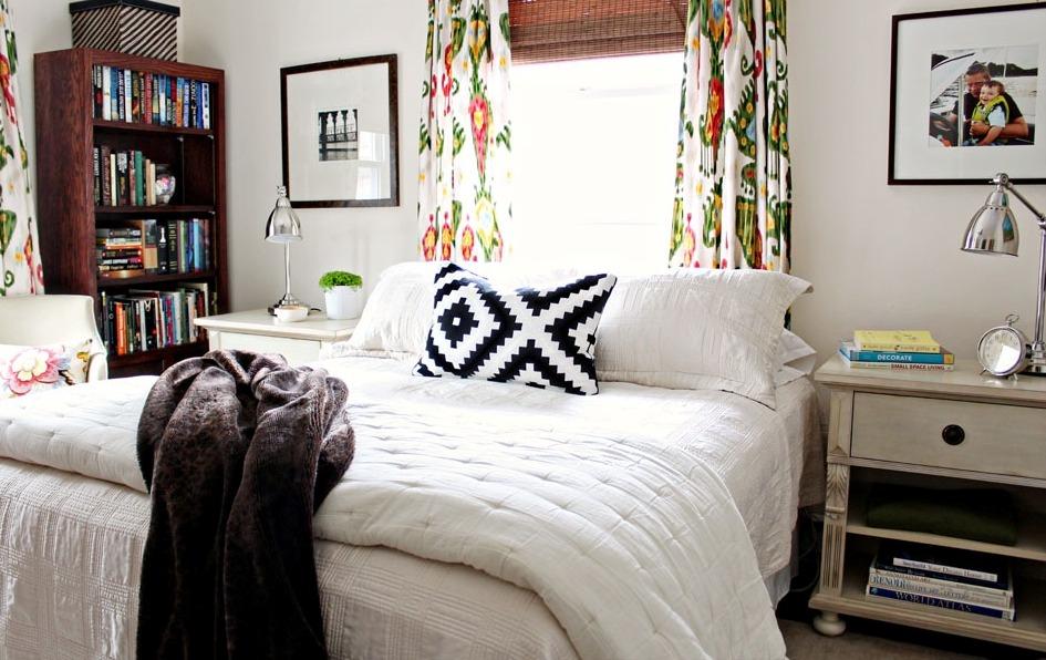 cozy eclectic bedroom