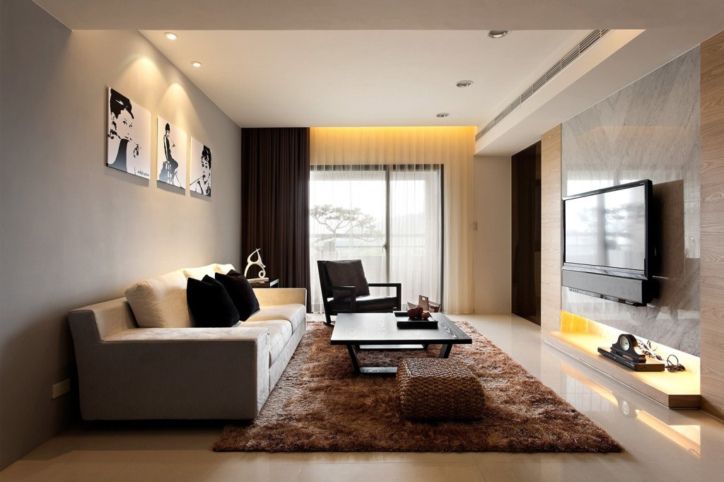 extraordinary-ultramodern-living-room-curtain