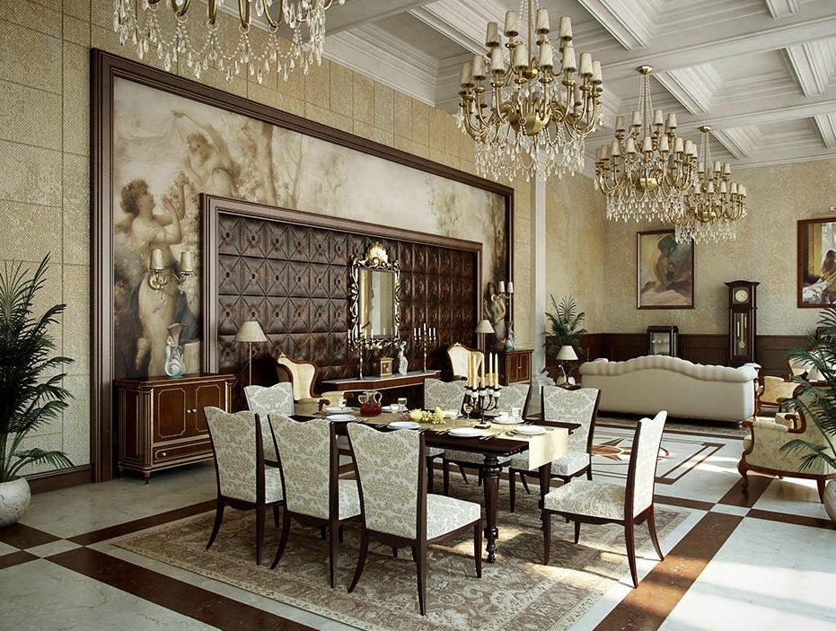 fine-classic-style-for-elegant-dining-room-design-ideas
