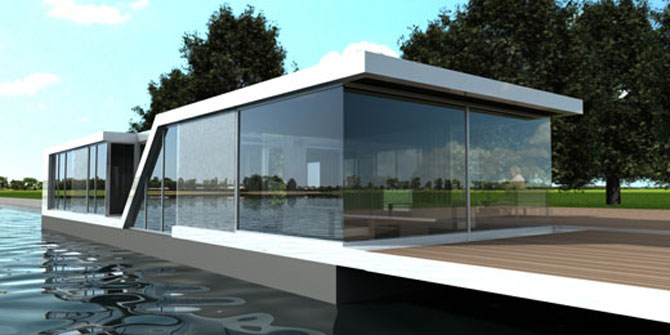 floating-modern-small-glass-house-architecture