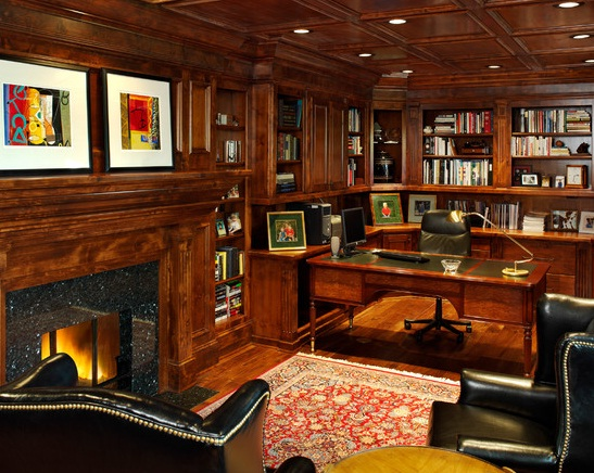 good-traditional-office-decor-with-traditional-home-office-design