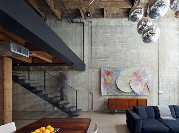 Oriental Warehouse Loft Architect
